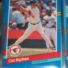 Cal Ripken 1991 Donruss baseball card