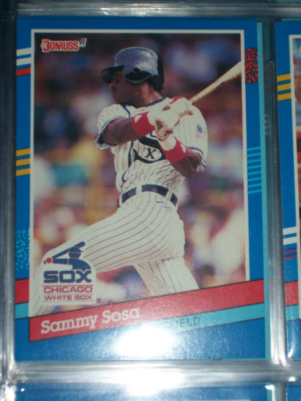Sammy Sosa 1991 Donruss baseball card