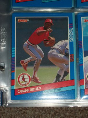 Ozzie Smith 1991 Donruss baseball card