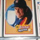 Nolan Ryan 1990 UD Baseball Heroes Insert #14/18- 1981 All-time Leader
