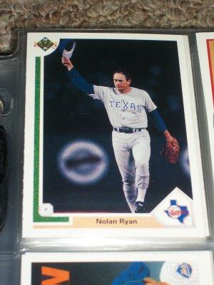 Nolan Ryan 1991 UD baseball card