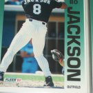 Bo Jackson 1992 Fleer Baseball Card