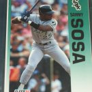 Sammy Sosa 92 Fleer baseball card