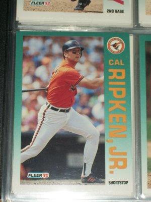 Cal Ripken jr 92 Fleer baseball card