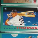 "Frank Thomas 92 Fleer rare ""Time Bomb"" baseball card"