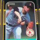 Roger Clemens 87 Donruss baseball card