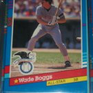 Wade Boggs 91 Donruss American League All-Star baseball card
