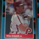 Mike Schmidt 88 Donruss MVP baseball card