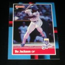 Bo Jackson 88 Donruss baseball card