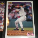 """Roger Clemens 92 UD """"Diamond Skills""""- Best right Handed Pitcher"""