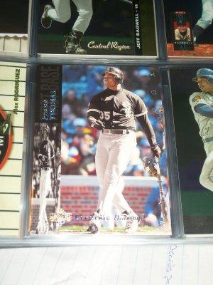 "Frank Thomas 94 UD ""Electric Diamond"" baseball insert card"