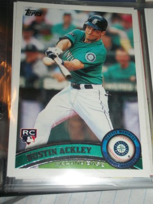 Dustin Ackley 2011 Topps- Rookie baseball card