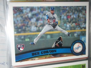 Dee Gordon 2011 Topps- Rookie Baseball card