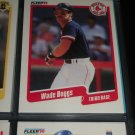 Wade Boggs 90 Fleer Baseball card
