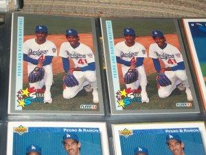 Pedro+Ramon Martinez 93 Fleer Baseball Card-Super Star Special