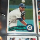 Michael Pineda 2011 Topps Baseball card- Rookie Debut
