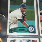 Michael Pineda 2011 Topps Baseball card- Rookie Debut