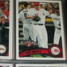 Jay Bruce 2011 Topps baseball card- All-Star Game