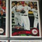 Jay Bruce 2011 Topps baseball card- All-Star Game