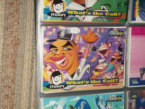 Frank Thomas 1995 Collectors Choice baseball card- What's the call insert card