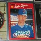 """Nolan Ryan 1990 Donruss baseball card- """"5000 K's"""""""