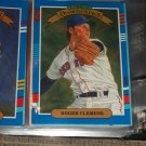 Roger Clemens 91 Donruss baseball card- Diamond Kings