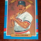 Cecil Fielder 1991 Donruss Baseball Card- Diamond Kings