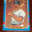 Cecil Fielder 1991 Donruss Baseball Card- Diamond Kings