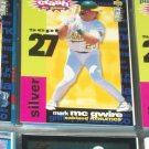 Mark McGwire 95 UD Collectors Choice Baseball Card- You Crash The Game Silver