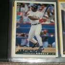 Bo Jackson 95 UD Collectors Choice baseball card