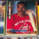 Juan Gonzalez 95 UD collectors choice baseball card- 2 Time HR Champ