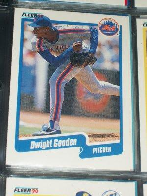 Dwight Gooden 1990 Fleer Baseball card
