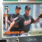 Cal Ripken jr 1995 UD Collectors choice baseball card- 2,000 straight games