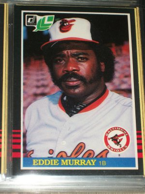 Eddie Murray 85 Leaf baseball card