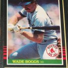Wade Boggs 85 Leaf baseball card