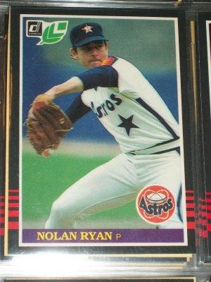 Nolan Ryan 85 Leaf baseball card