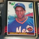 Dwight Gooden 85 leaf baseball card