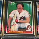 Mike Schmidt 85 leaf baseball card