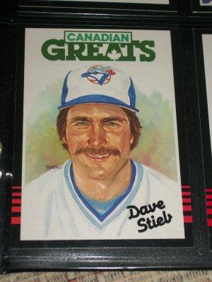 "85 Leaf ""Canadian Greats"" Dave Stieb Baseball Card"