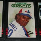 "RARE 85 Leaf ""Canadian Greats"" Tim Raines Baseball card"
