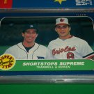 "86 Fleer ""Super Star Special"" Trammell+Ripken baseball card"