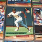Rickey Henderson 93 Fleer Ultra baseball card