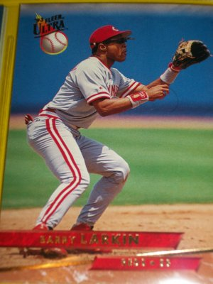 Barry Larkin 93 fleer ultra baseball card