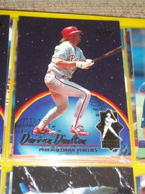 "Darren Daulton 93 fleer ultra ""Home Run King"" Baseball Card"