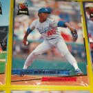 Pedro Martinez 93 fleer ultra baseball card- ROOKIE