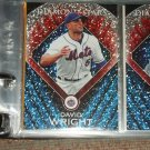 "David Wright 2011 Topps RARE Insert- ""Diamond Stars"" baseball card"