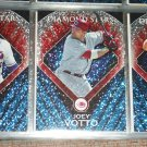 Joey Votto 2011 Topps baseball card RARE INSERT- Diamond Stars