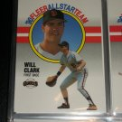 Will Clark 1990 Fleer All-Star Team Baseball card