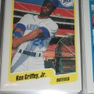 Ken Griffey jr 1990 Fleer baseball card