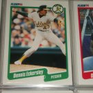 Dennis Eckersley 1990 Fleer baseball card